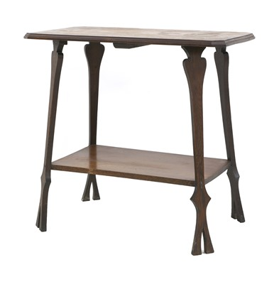 Lot 75 - An Arts and Crafts oak occasional table