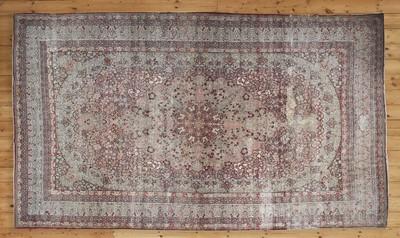 Lot 56 - A rare antique Persian Laver carpet