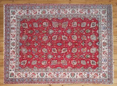 Lot 40 - A Persian wool carpet