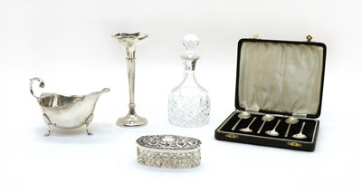 Lot 54 - Collection of silver items