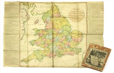 Lot 8 - WALLIS, John: New Geographical Game, exhibiting a Tour Through England & Wales.