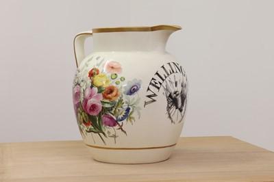 Lot 459 - A large pottery jug