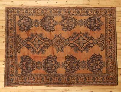 Lot 473 - A Turkish Oushak carpet