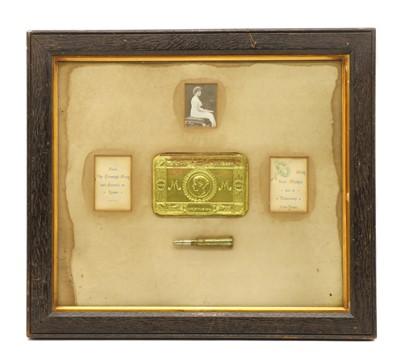 Lot 56 - WWI Princess Mary Xmas 1914 gift tin