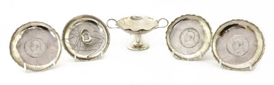Lot 145 - A collection of Chinese export silver