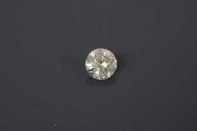 Lot 38 - An unmounted brilliant cut diamond