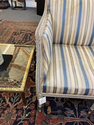 Lot 88 - A pair of George III settees
