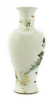 Lot 47 - A Chinese famille rose vase