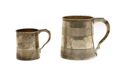 Lot 11 - A George III silver mug
