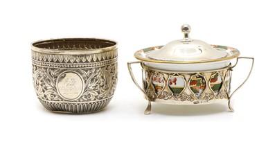 Lot 6 - A Victorian silver bowl