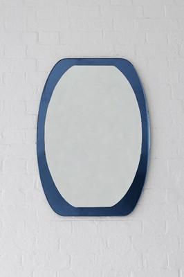 Lot 587 - An Italian glass wall mirror