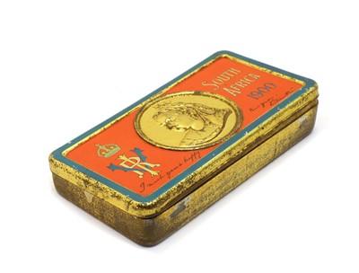 Lot 48 - A Queen Victoria Boer War Gift Tin 1900