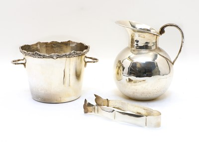 Lot 61 - Two sterling silver items