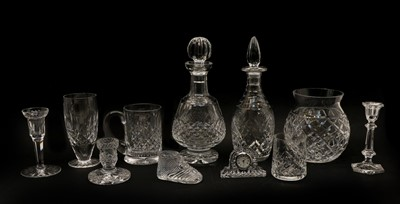 Lot 66 - Collection of Waterford crystal glassware