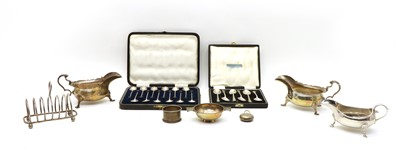 Lot 66 - A collection of Sterling silver items