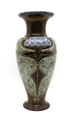 Lot 83 - A Royal Doulton glazed stoneware vase