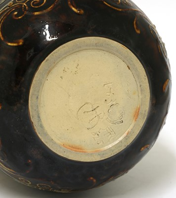 Lot 49 - A Doulton Lambeth stoneware vase