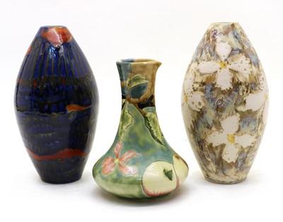 Lot 89 - Three Cobridge vases