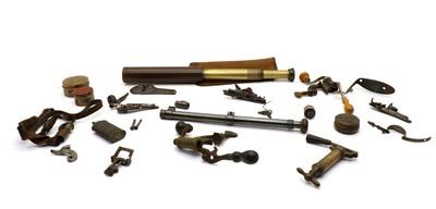 Lot 41 - A 'Ranger 55' brass cased four draw telescope
