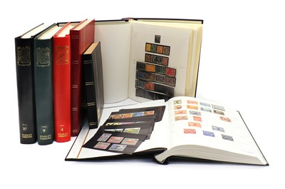 Lot 84 - Sixteen albums of Commonwealth and World stamps and two stock books
