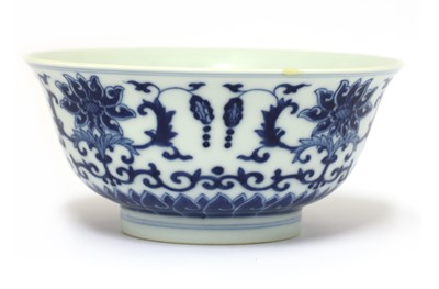 Lot 34 - A Chinese blue and white bowl