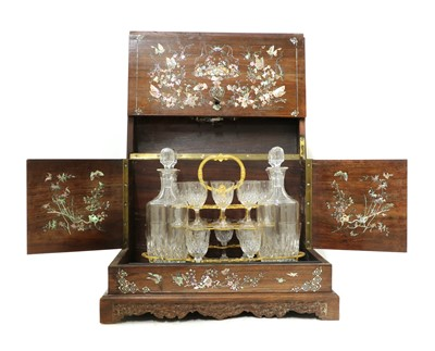 Lot 176 - A Chinese export drinks cabinet