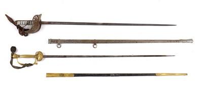 Lot 103 - Two swords