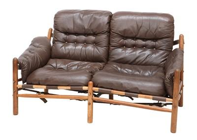 Lot 611 - A Swedish 'Ilona' teak sofa