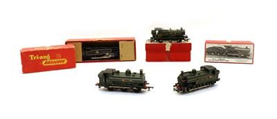 Lot 108 - Four various dublo gauge locomotives