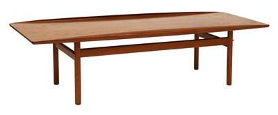 Lot 568 - A Poul Jeppesen teak coffee table