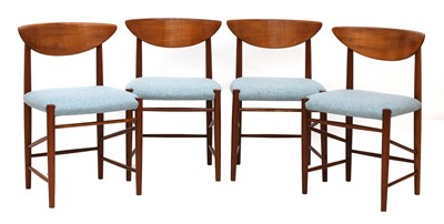 Lot 469 - A set of four Søborg 'Model 316' chairs