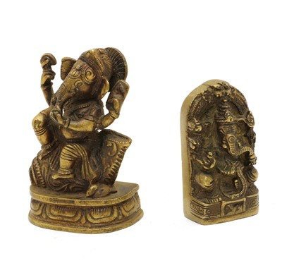 Lot 59A - Two North Indian/Nepalese bronzes