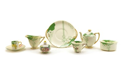 Lot 46 - A collection of Royal Doulton Glamis pattern teawares
