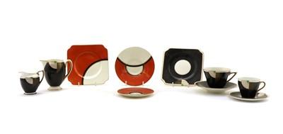 Lot 63 - A collection of Royal Doulton 'Tango' coffee wares