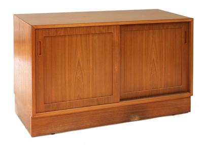 Lot 581 - A Danish teak sideboard