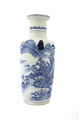 Lot 35 - A Chinese blue and white vase