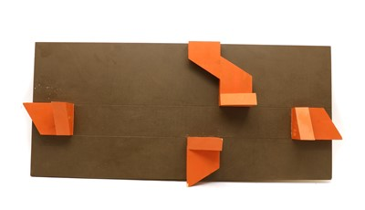 Lot 113A - A Constructivist wall panel