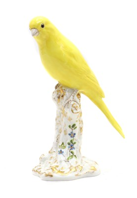 Lot 74 - A Royal Worcester porcelain figure of a canary