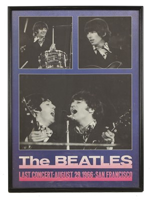 Lot 534 - Two Beatles posters