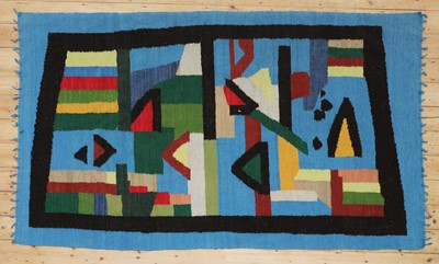 Lot 483 - A modernist carpet or wall hanging