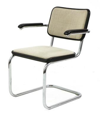 Lot 484 - A Thonet 'Cesca' elbow chair