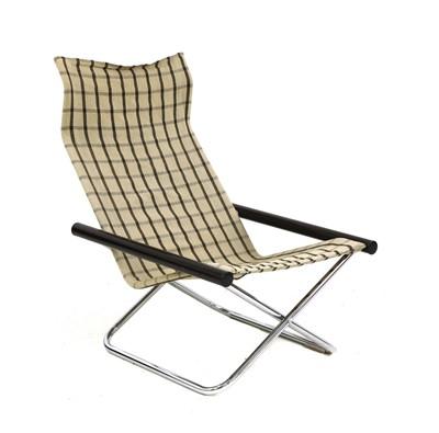 Lot 475 - An 'NY' folding chair