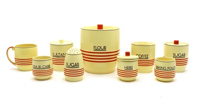 Lot 42 - A collection of Mintons Art Deco kitchen ware
