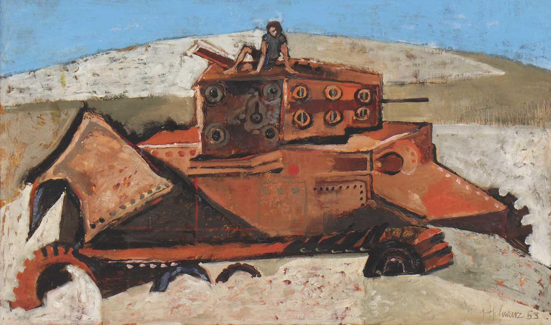 Lot 80 - *Hans Schwarz (Austrian-British, 1922-2003)