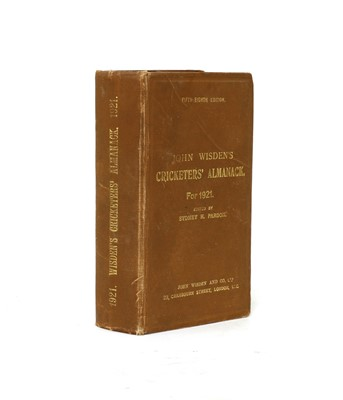 Lot 66 - WISDEN Cricketers' Almanack: 1921