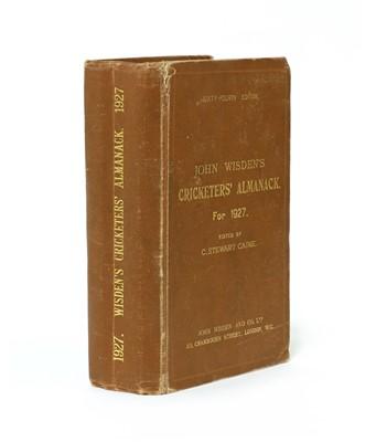 Lot 71 - WISDEN Cricketers' Almanack: 1927