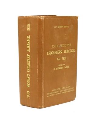 Lot 73 - WISDEN Cricketers' Almanack: 1930
