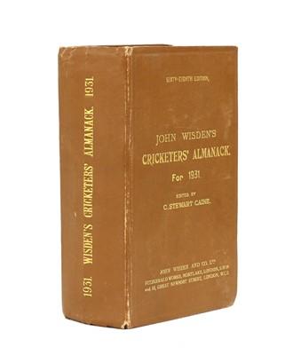 Lot 74 - WISDEN Cricketers' Almanack: 1931
