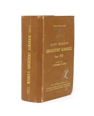 Lot 75 - WISDEN Cricketers' Almanack: 1932