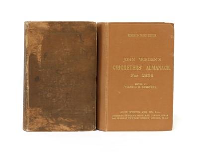 Lot 79 - WISDEN Cricketers' Almanack: 1936 & 1937